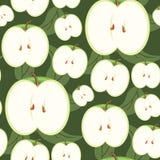 水果的无缝的墙纸 库存照片
