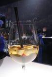 水果的鸡尾酒 免版税库存图片