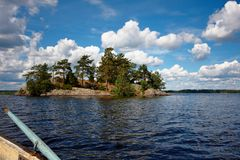水横向 免版税库存图片