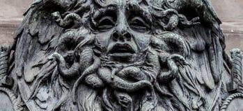 水母面具  免版税库存图片
