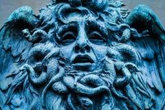 水母面具  免版税库存照片