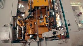 水泥在工厂的积木mades 铺制造工厂Prores编解码器 股票录像