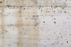 水泥墙壁与湿气的 免版税库存图片