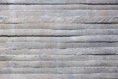 水泥墙壁小条表面  免版税库存照片
