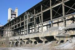 水泥工厂 免版税图库摄影