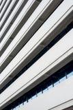 水泥抽象建筑设计 库存照片