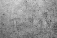 水泥灰色墙壁 免版税库存照片