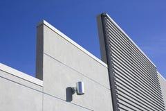 水泥现代墙壁 免版税库存图片