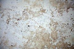 水泥破裂的老墙壁 免版税图库摄影