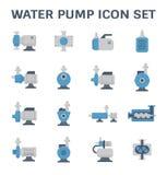 水泵象 向量例证