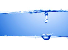 水滴水 免版税图库摄影