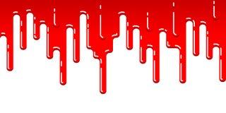 水滴血液条纹  免版税库存照片