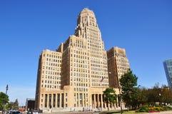 水牛市政厅纽约 免版税库存图片