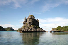 水生泰国奇迹 免版税库存照片