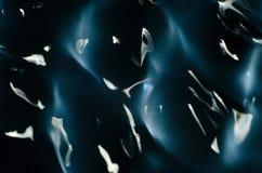 水纹理的关闭受振动的影响在432赫兹 图库摄影