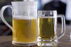 水罐杯子 免版税图库摄影