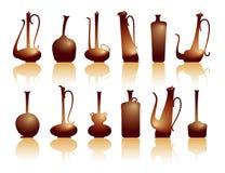 水罐茶壶 库存图片