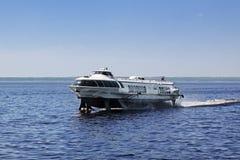 水翼艇 库存照片