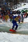 水色滑雪 免版税库存图片