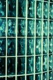 水色玻璃墙 库存照片