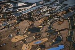 水色的抽象绘画  免版税库存图片
