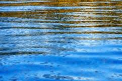 水表面上的波浪  图库摄影