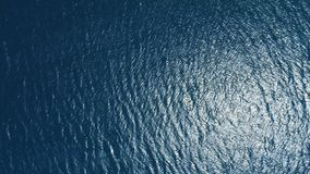 水表面鸟瞰图 股票录像