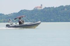 水警察汽艇 图库摄影