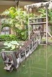 水轮 库存照片