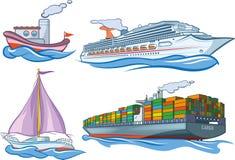 水运输 库存图片