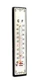 水银的温度计 库存图片