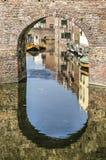 水门在聚特芬,荷兰 免版税库存照片