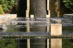 水雕塑 免版税库存图片