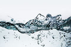 水飞溅 库存图片