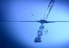 水飞溅 免版税图库摄影