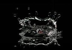 水飞溅 图库摄影