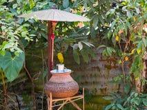水驻地在仰光,缅甸 免版税库存照片