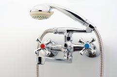 水龙头,卫生间的龙头 免版税图库摄影