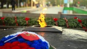 永恒火焰在俄罗斯 影视素材