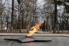 永恒火焰纪念碑 库存照片