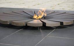 永恒火焰-胜利的标志在二战的 免版税库存图片