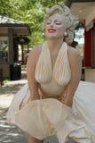 永远玛里琳雕塑 免版税图库摄影