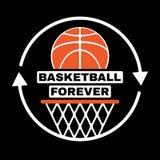 永远篮球 图库摄影