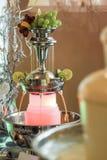汁液喷泉 免版税库存照片