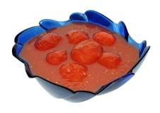 汁液拥有蕃茄 免版税库存图片
