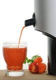 汁液新鲜被紧压的蔬菜 图库摄影