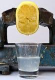 汁液柠檬 免版税图库摄影