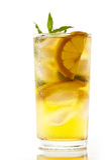 汁液柠檬 免版税库存图片