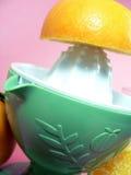 汁液桔子 图库摄影