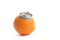 汁液桔子 免版税图库摄影